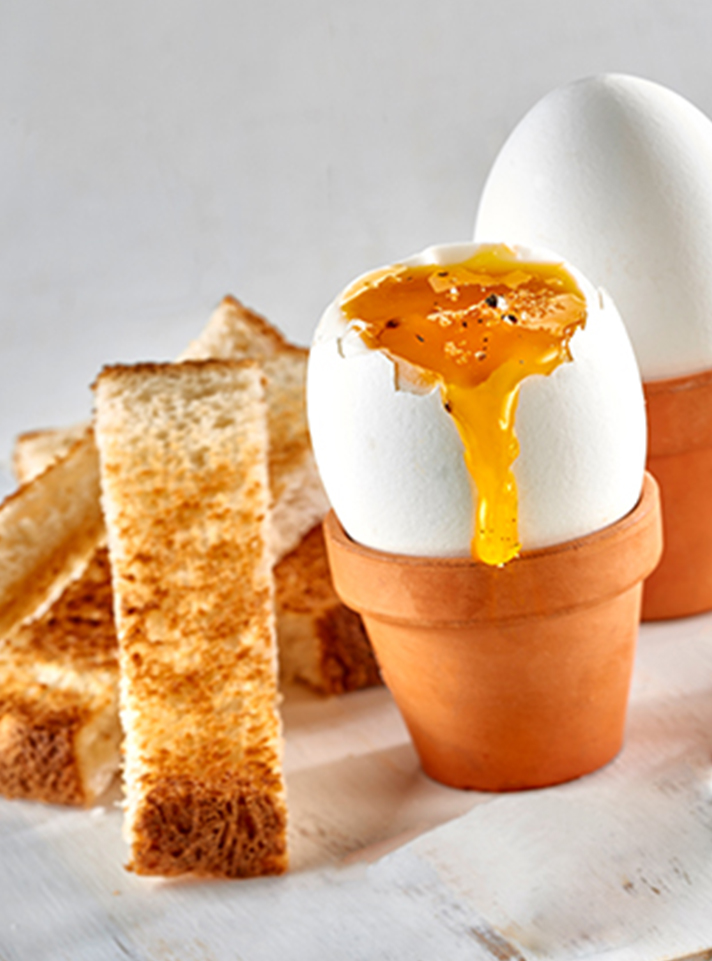Soft Boiled Eggs and Toasted Soldiers
