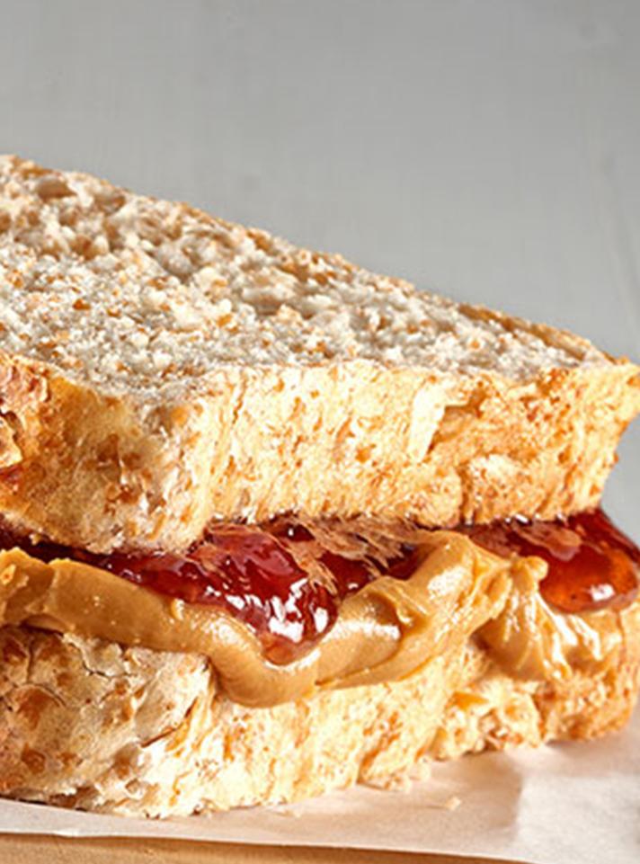 Peanut Butter and Jam Sandwich