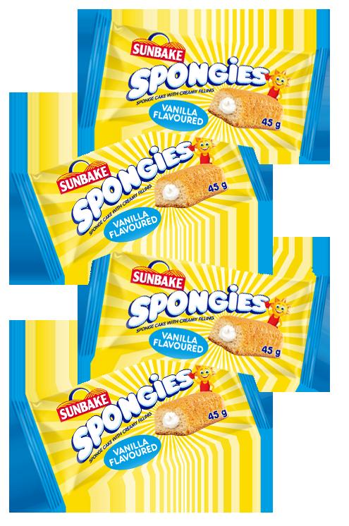 Sunbake Spongies Vanilla