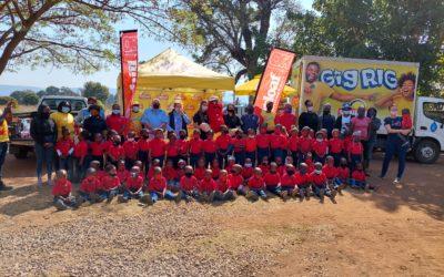 SUNBAKE FEEDS 500 CHILDREN